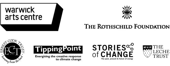 Warwick Arts Centre, Rothschild Foundation, Ernest Cook Trust, Tipping Point, Stories of Change
